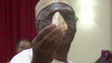 Sierra leone huge diamond