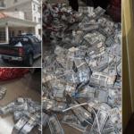 stolen Money, EFCC, Lagos Apartment, Anti-corruption Agency in Nigeria