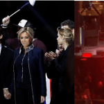 New French President, Emmanuel Macron Celebrates Victory With Raunchy Dancers