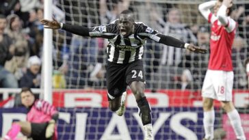 Cheick Tiote goal against Arsenal