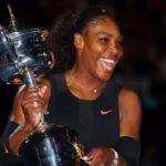 tennis star, American Serena Williams