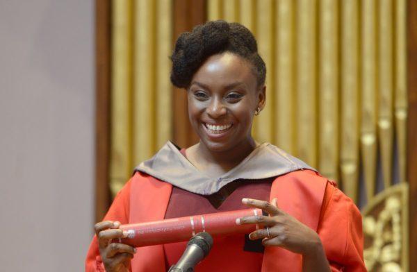 Nigerian Novelist Chimamanda Adichie Honoured With Honorary Degree At The University Of Edinburgh