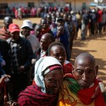 Kenyan Lady Gives Birth At Polling Station, Returns To Cast Vote