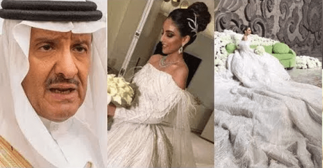 Longest Wedding Gown 68 Year Old Saudi Prince Weds 25 Year Old Lady In Lavish Ceremony Photos How Africa News