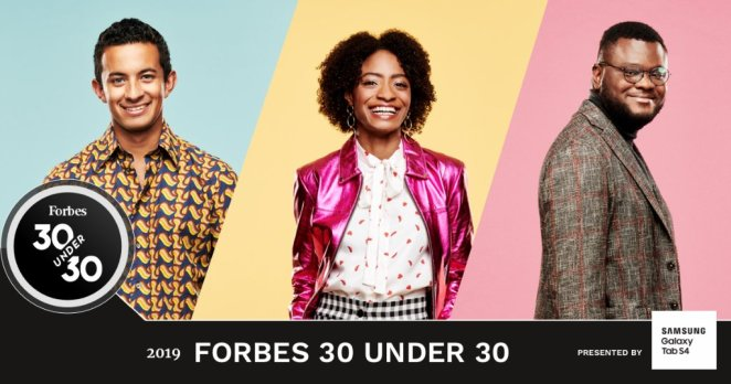 Forbes Unveils 30 under 30 List