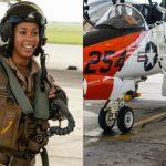 Lt. j.g. Madeline Swegle, U.S. Navy's First Black Female Tactical Jet Pilot