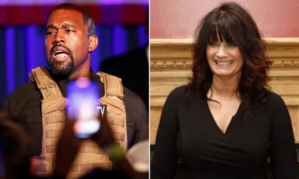 Kanye West and Michelle Tidball