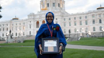 Qorsho Hassan, Minnesota's 2020 Teacher of the Year