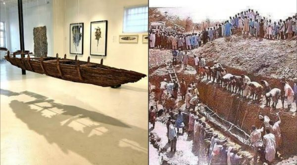 Dufuna: le canoë le plus vieux de 8000 ans d'Afrique 3