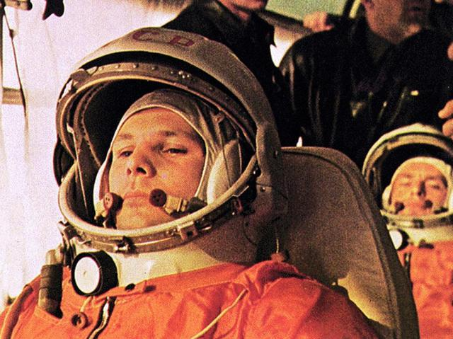 Yuri Gagarin: first human in space/ Flickr