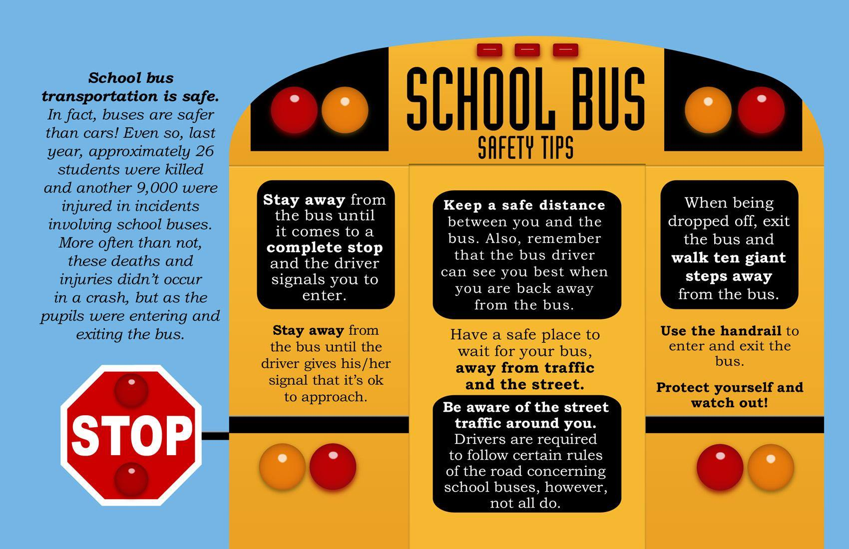 Back To School School Bus Safety Tips