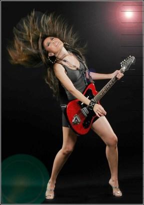 Hair Guitar