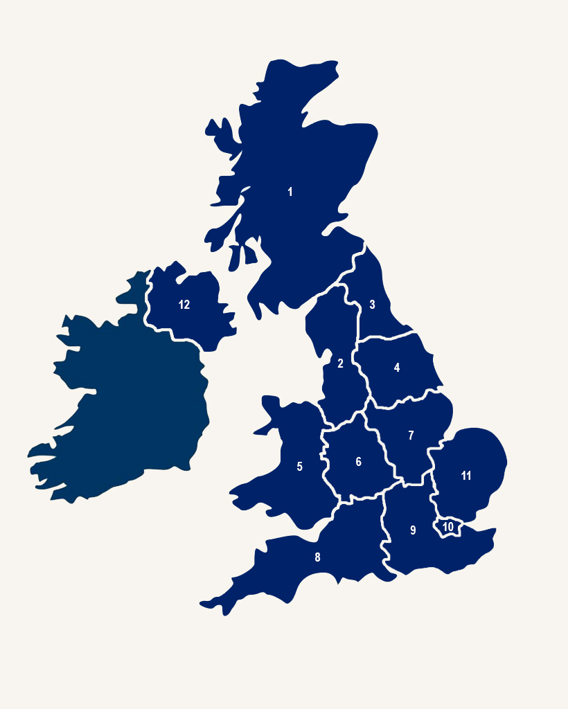 Howard James Regional Map