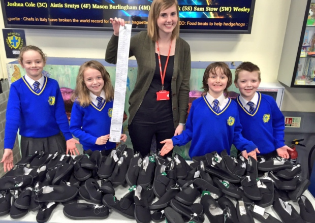 Howard pupils support Nepal