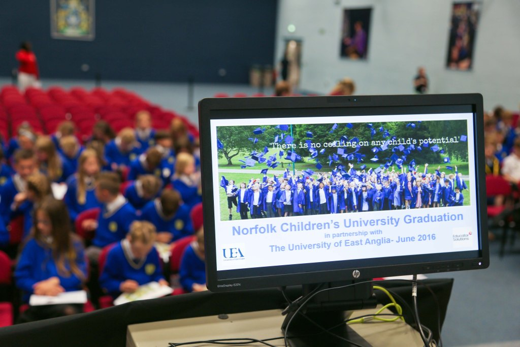 Children's University graduations 2016