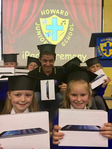 New Howard Junior Pupils Go Digital