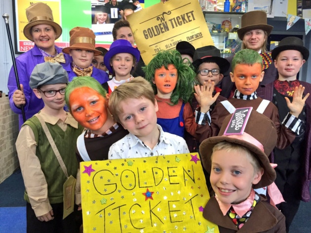 Howard Junior School celebrates Roald Dahl Day in special way