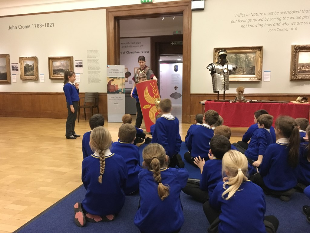 Norwich Castle Trip - Year 4