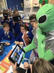 Howard pupils enjoy 'out-of-world' experience