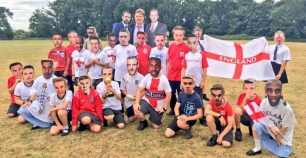 World Cup fevers hits King's Lynn school
