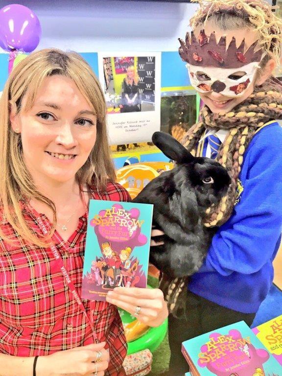 Leading children's author inspires King's Lynn school pupils