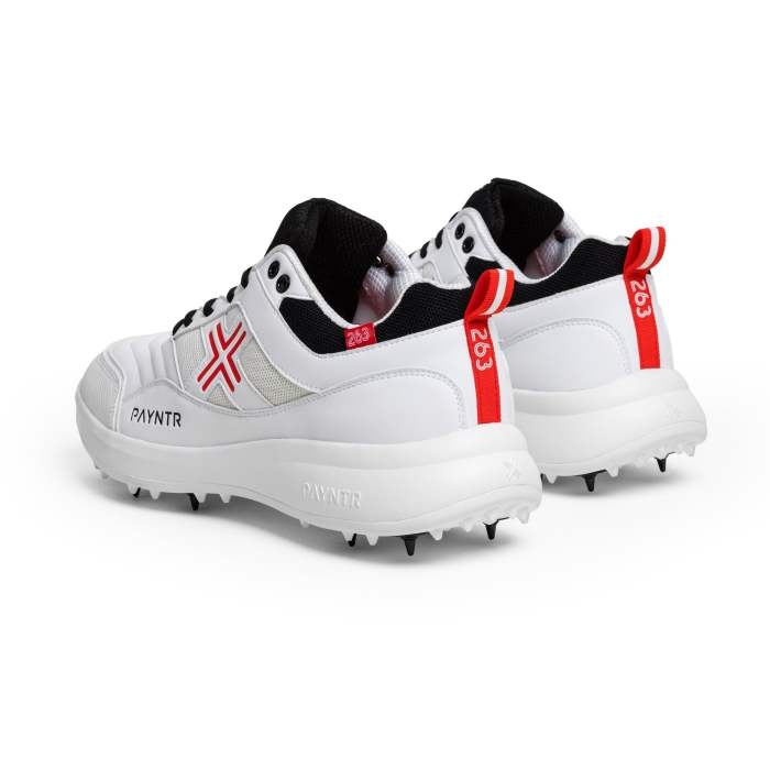 PAYNTR Bodyline 263 All-Rounder Spike White Trainers