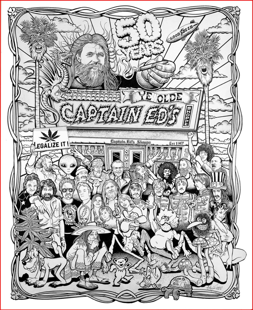 Captain Ed's 50th Anniversary poster