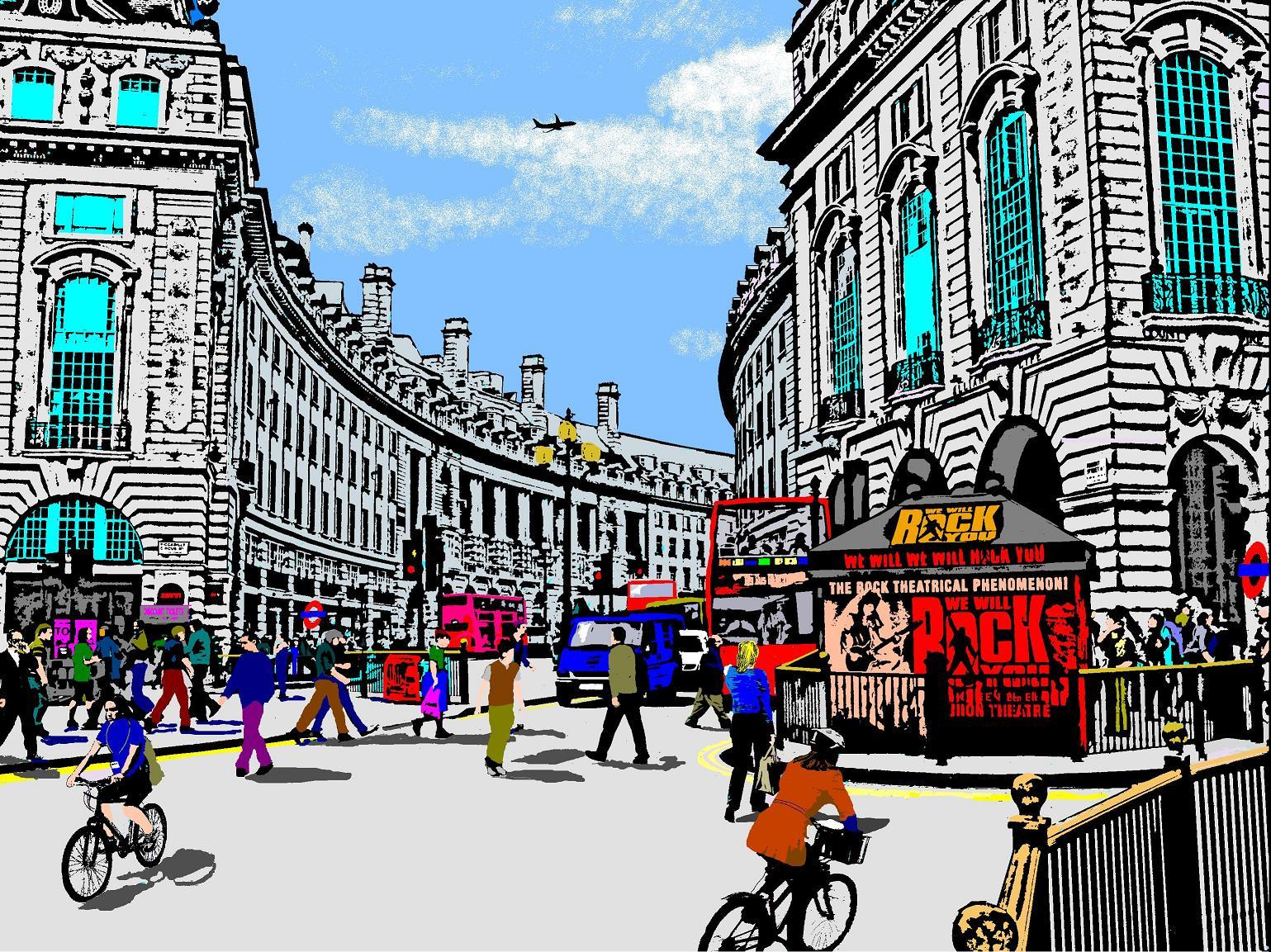 London Artwork Artwork By Howard Temperley