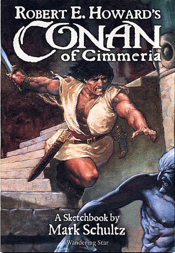 Conan of Cimmeria Sketchbook