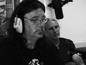 Gary and Alan at Bishop FM Studio