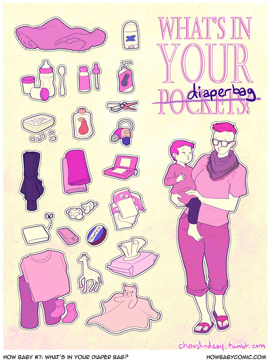 How Baby #7: What's in Your Diaper Bag?