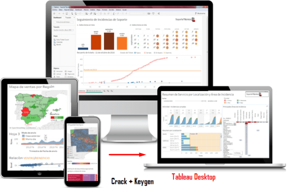 Tableau Desktop Keygen Crack