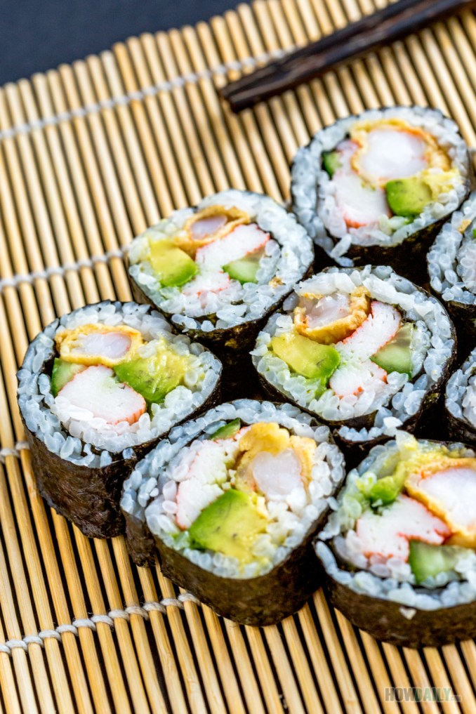 New Mexico Sushi Roll Recipe (Fresh Cooked-Sushi)