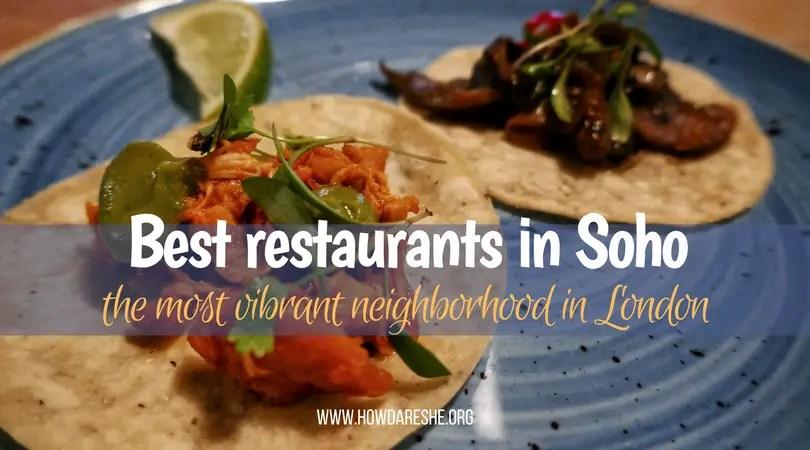 best restaurants in Soho featured image