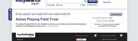 Online fundraising hits first landmarks