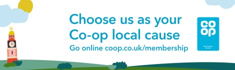 Raise funds when shopping at Co-op