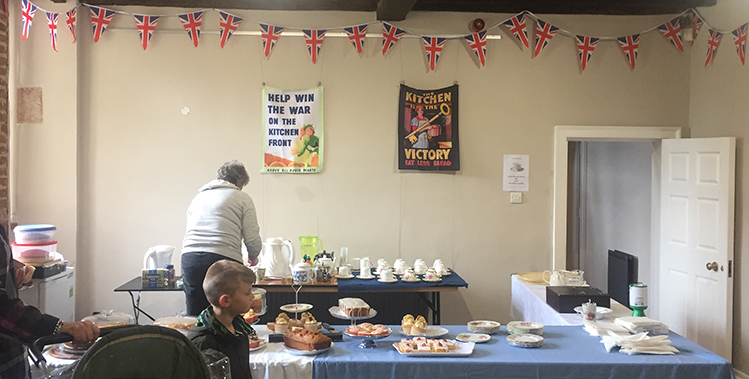 The Ashes Playing Field Trust put on a vintage tea room as part of Howden's Vintage Day.