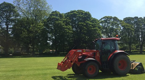 Work carried out on main fields
