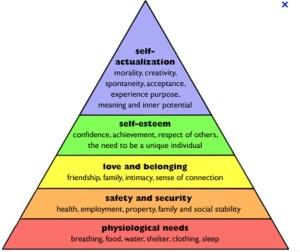 define self actualization needs