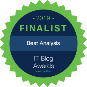 Cisco IT Blog Awards 2019 - Best Analysis
