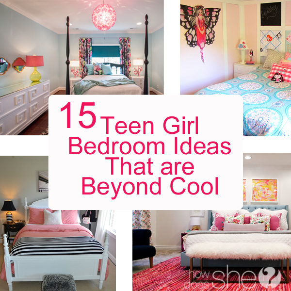 Teen Girl Bedroom Ideas - 15 Cool DIY Room Ideas For ... on Teen Room Girl  id=57403