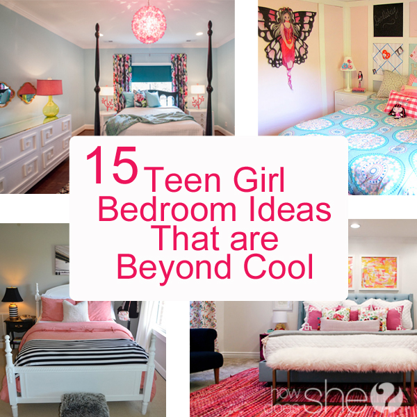 teen girl bedroom ideas 15 cool diy room for teenage girls - Fun Teenage Girl Bedroom Ideas