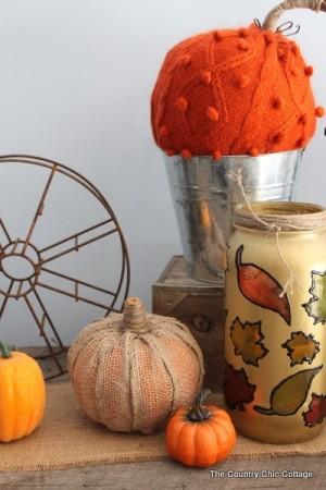 20 Dollar Store Thanksgiving Decorations