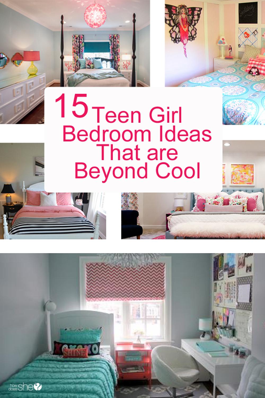 Teen Girl Bedroom Ideas - 15 Cool DIY Room Ideas For ... on Small Bedroom Ideas For Teenager  id=84966