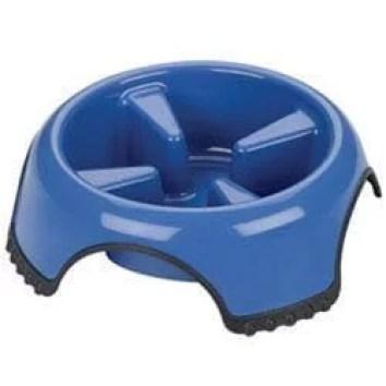 Slow Feed Non-Skid Dog Bowl Large
