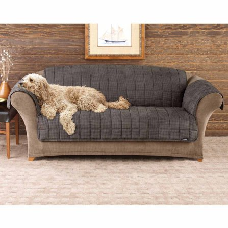 Dog Bed Reversible Microfiber Couch Cover