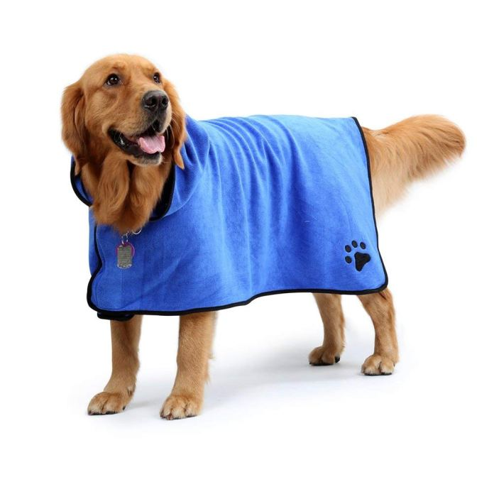 best dog towel for drying dogs by NACOCO