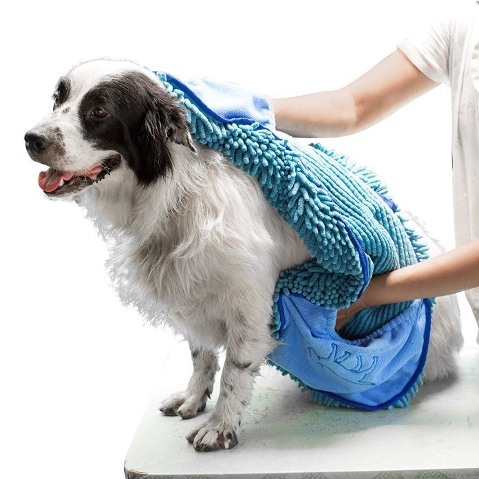 best dog towel for drying dogs by Tuff Pupper