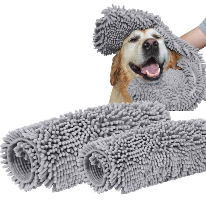 best dog towel for drying dogs by Turquoize