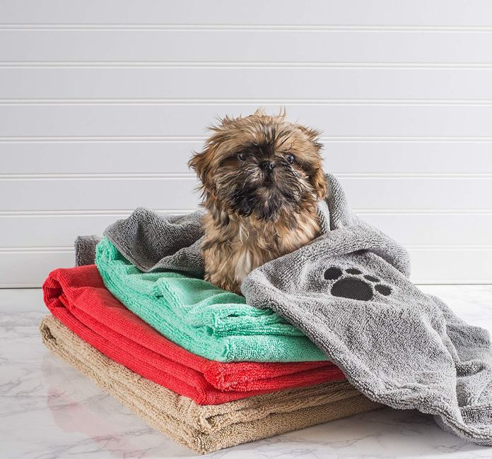 best dog towel for drying dogs by DII Bone Dry